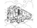 Train Dot-to-dot Sheet Template