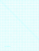 Triangles With Third-inch Grid