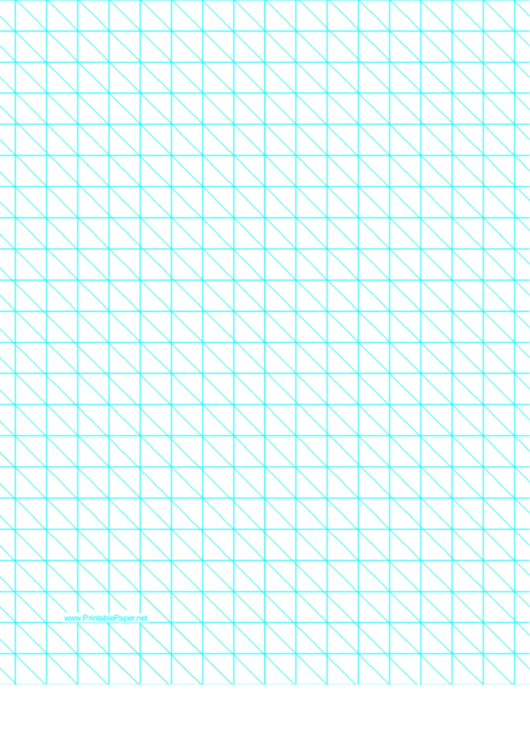 Diagonals Right With Half-Inch Grid Printable pdf