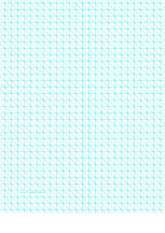 Diagonals Right With Third-Inch Grid Printable pdf