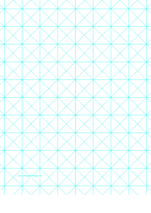 Triangles With 1-Inch Grid Printable pdf