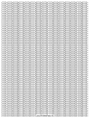 Seed Peyote Stitch Graph Paper