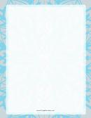 Winter Snow Page Border Templates