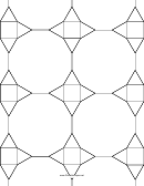 3-12-12 3-4-3-12 Tessellation Paper Template