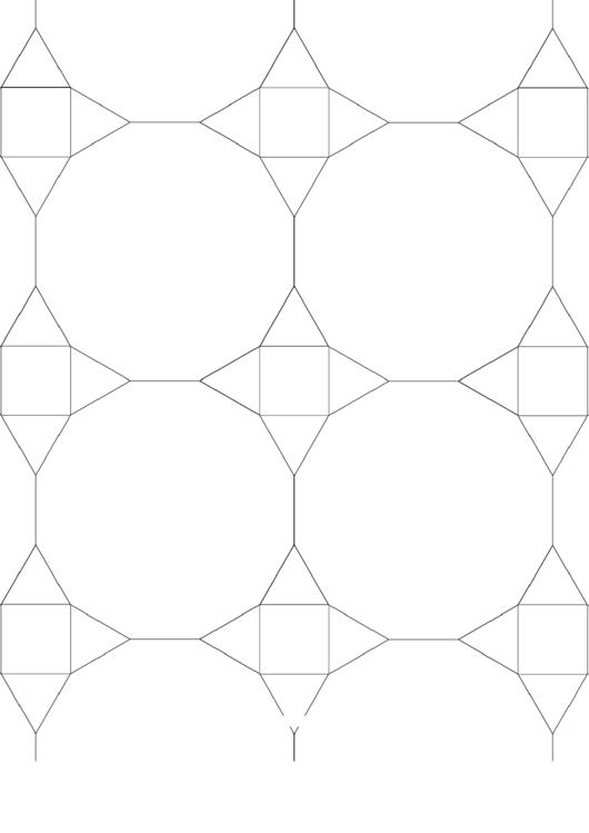 3-12-12 3-4-3-12 Tessellation Paper Template Printable pdf