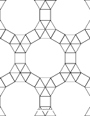 3-3-3-3-3 3-3-4-12 Tessellation Paper Template