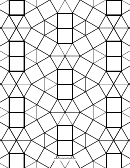 3-3-3-3-3-3 3-3-4-3-4 Tessellation Paper Template