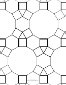 3-4-6-4 4-6-12 Tessellation Paper Template