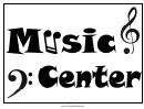 Music Center Sign