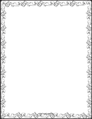 Decorative Border Paper