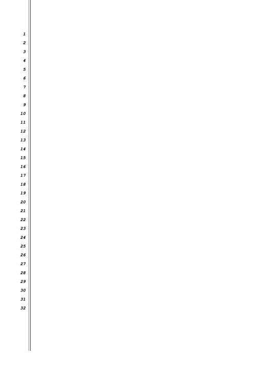 1 To 32 Left Border Template Printable pdf