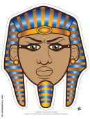 Pharaoh Mask Template