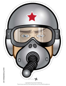 Army Diver Mask Template