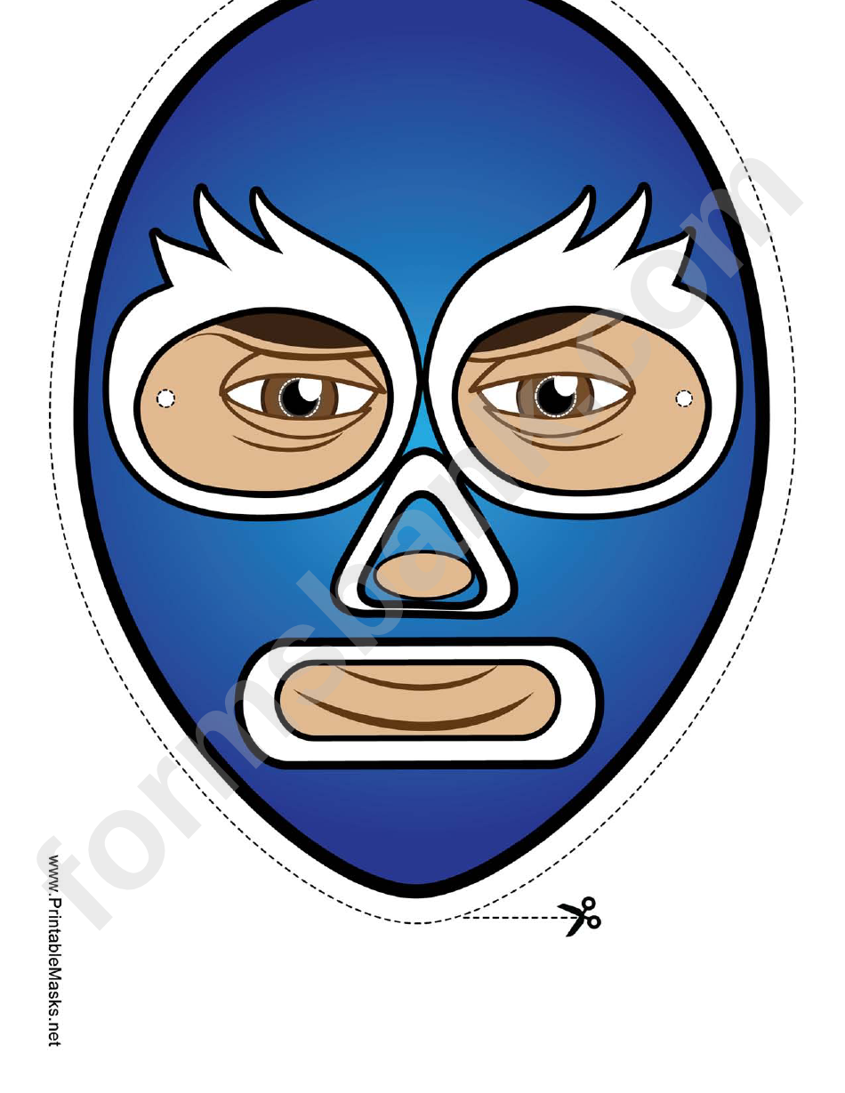 Captain America Mask Template printable pdf download