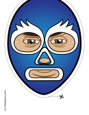 Captain America Mask Template