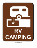 Rv Camping Sign