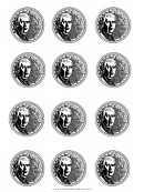 Us Nickel Templates