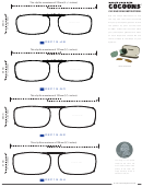 Cocoons Sunglasses' Clip-one Sizing And Measurement Chart