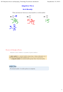 A2 Simplest Form Multiplying Dividing Fractions.notebook With Answers - 2013