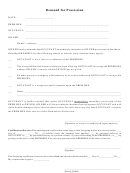 Demand For Possession Letter Template