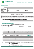 Personal Accident Proposal Form - Old Mutual