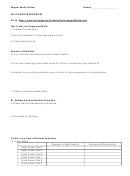 Pepper Moth Biology Worksheet