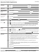 Form 11-a - Absentee Ballot Application