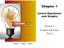 Chapter 1 Linear Equations And Graphs Worksheet With Answers