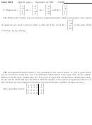 Math 205a Quiz 01 Worksheet - Bates College, 2007