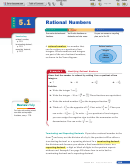 Lesson 5.1 Rational Numbers Worksheet