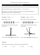 Exponential Growth And Decay Equation Worksheet With Answer Key