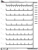 Dividing With A Numberline Math Worksheet With Answers