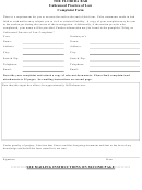 Complaint Form - The Florida Bar