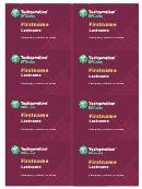 Business Cards Template - Technovation