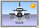 Airplane Color Poster Template