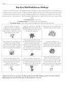 Summer Challenge Reading Log