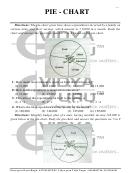 Pie Chart Worksheet - Vidya Guru Karol Bagh
