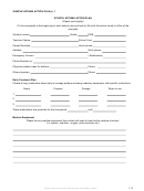 School Asthma Action Plan Form - Texas Catholic Conference Education Department - 2016