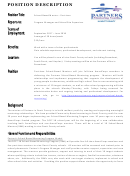 Sample School-based Mentor-part-time Job Description Template
