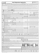 Form Eb-131 - Wi Voter Registration Application
