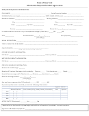 State Of New York - Information Required For Marriage License