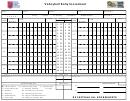 Volleyball Rally Score Sheet