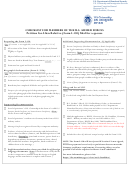 Checklist For Members Of The U.s. Armed Forces - Petition For Alien Relative (form I-130) Filed For A Spouse