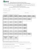Form Ip-100/101 - Reporting Form For School/childcare Immunization Reporting