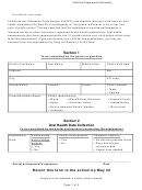 Oral Health Assessment - California Department Of ...