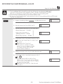 Form 1040a - Child Tax Credit Worksheet Line 35 - 2016