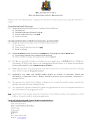 Application For Police Certificate Of Character Form - Royal Grenada Police Force