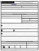 Fillable Va Form 21-22 - Appointment Of Veterans Service Organization As Claimant