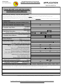 Form Dc6-111a - Request For Visiting Privileges Application