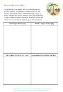Decision Balance Sheet
